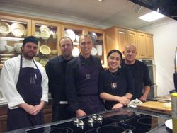 Chefs with Degustibus Team