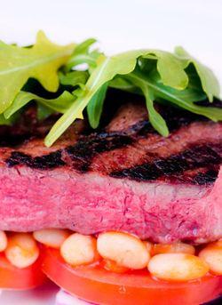 Steak & beans