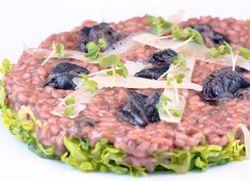 PASTA Escargot & snails, lettuce
