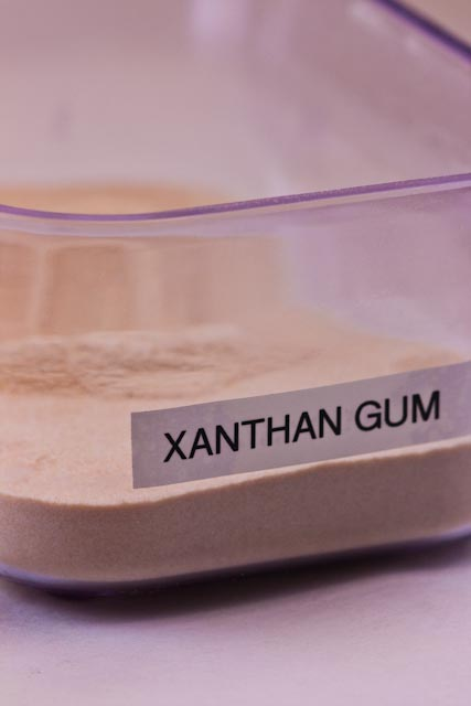 MICEL. xanthun gum