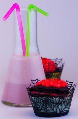 DESSERT halloween cupcake & milkshake
