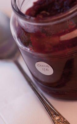 FRUIT cranberry in a jar