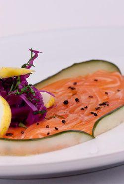 FISH ceviche salmon