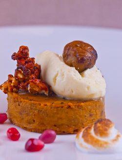DESSERT pumpkin tart