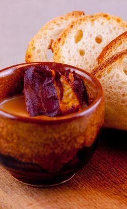SOUP chestnut soup with speck crisp