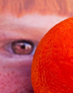 FRUIT citrus orange with eye