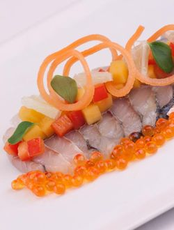 FISH ceviche mackerel