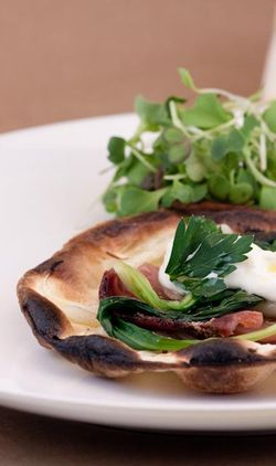 MIC. pizza with ramps and topfen