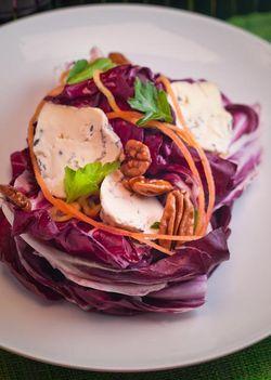 RADICCHIO blue cheese salad