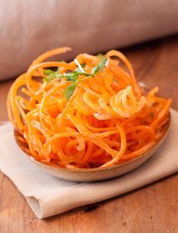 SCHNITZEL carrot salad
