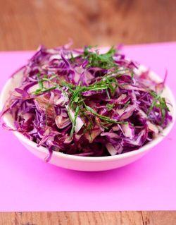 SCHNITZEL cabbage salad