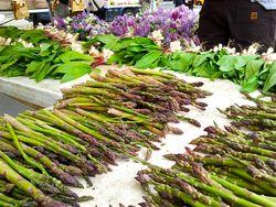 Asparagus & lilacs