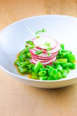 PEAS radish salad