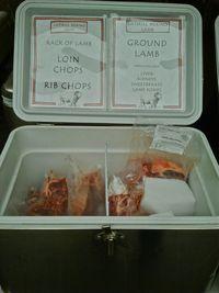 Lamb in package