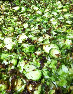 Brussels on sheet pan