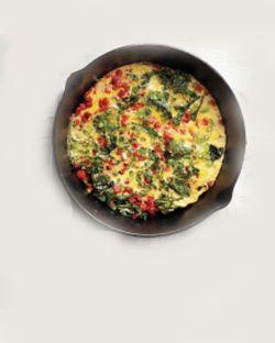 Kale omelet 3