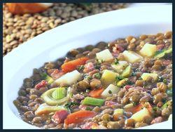Lentil soup 1