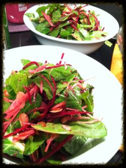Collard salad