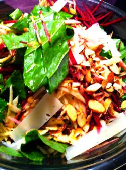 Collard green salad 2