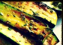 Grilled zucchin