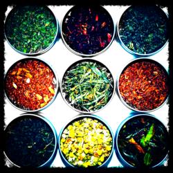 9 tea sampler