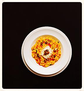 2 safran risotto