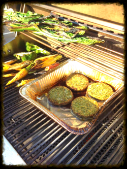 grilled veggie patties
