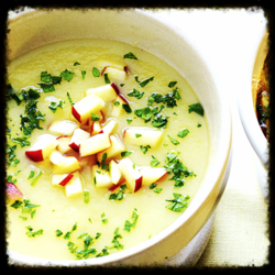 01 parsley soup w:apple