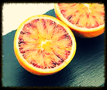 1 blood orange cuttig board