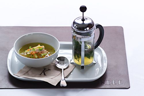 Spring Vegetable Consomme