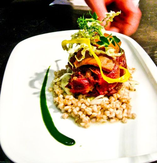 Lamb Neck & Farro with Florence Fennel