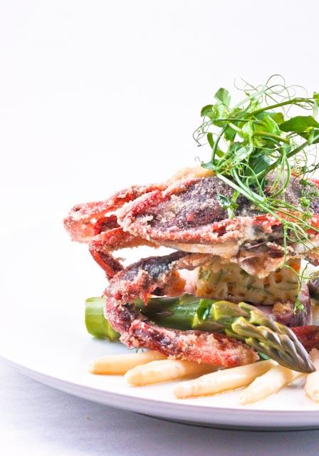 Softshell & Asparagus